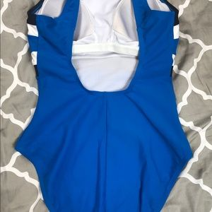 928435d26a586 Jag Swim | One Piece Bathing Suit Blue White Black Ml | Poshmark